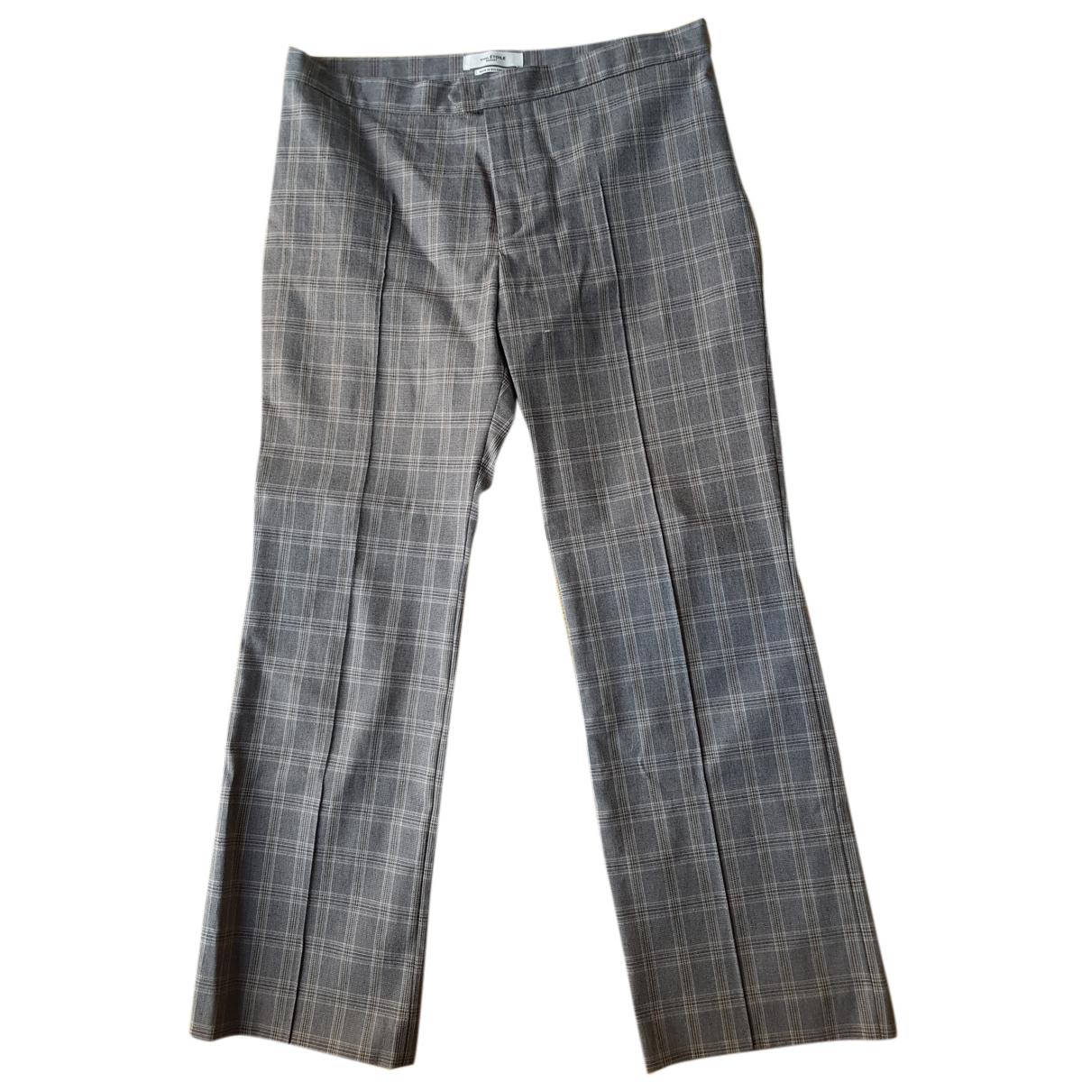 Isabel Marant Etoile N Beige Cotton Trousers for Women 38 FR
