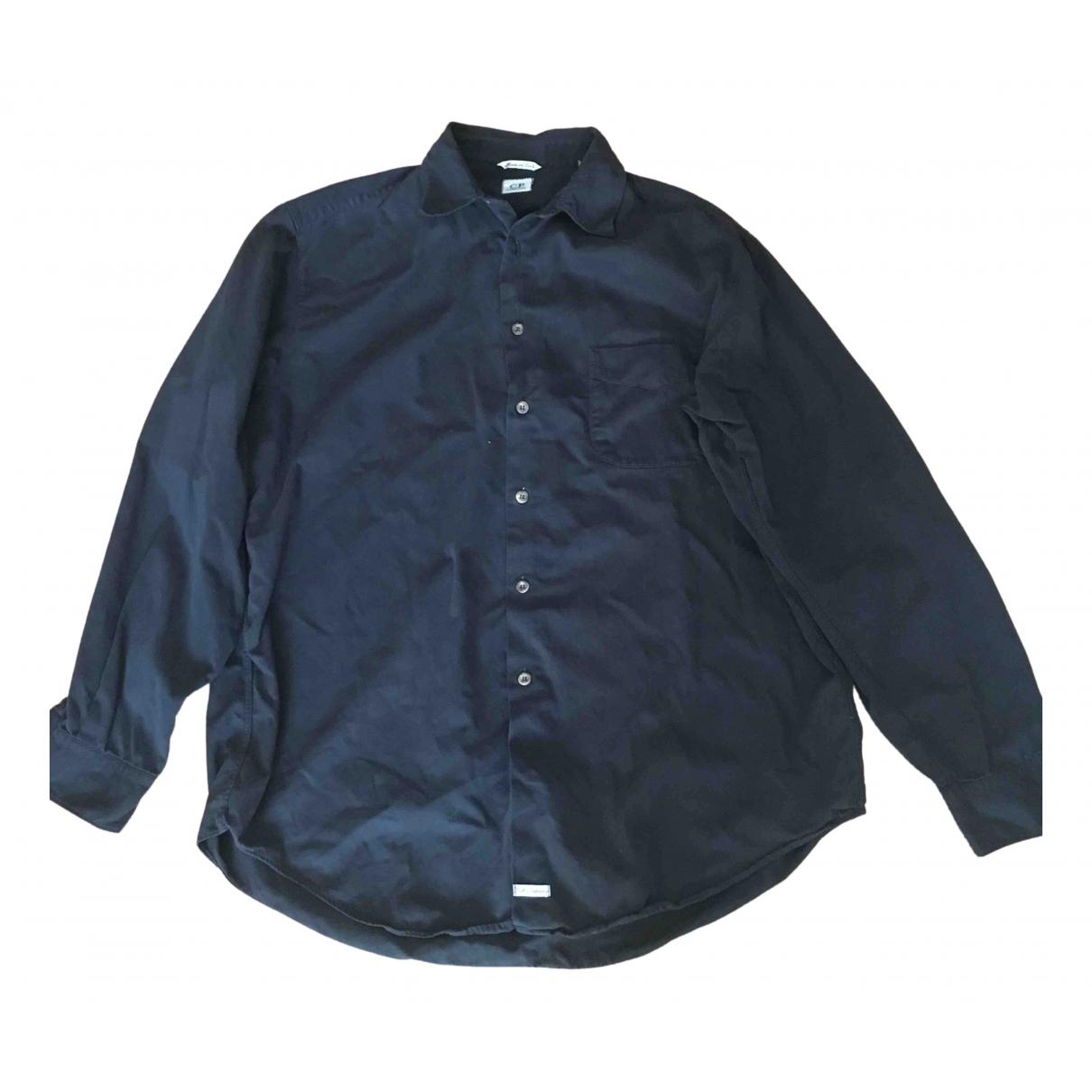 Cp Company - Chemises   pour homme en coton - noir