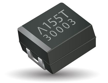 AVX Tantalum Capacitor 47μF 6.3V dc Polymer Solid ±20% Tolerance , TCQ (2000)
