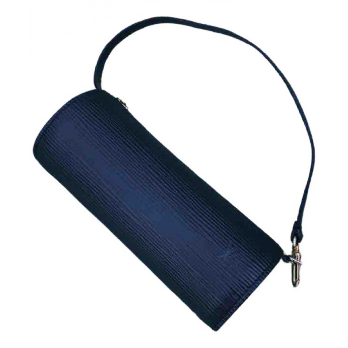 Louis Vuitton - Sac a main Papillon pour femme en cuir - noir