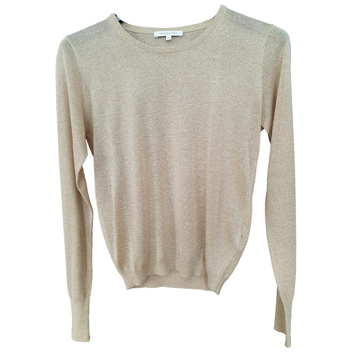 Patrizia Pepe \N Gold Knitwear for Women 36 IT