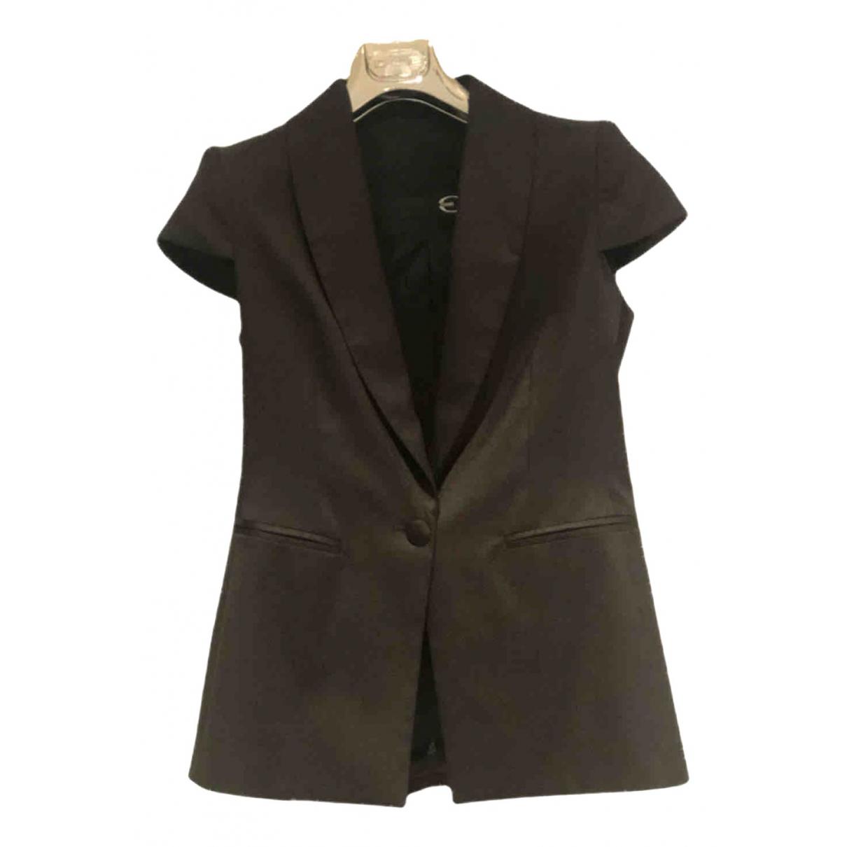 Just Cavalli - Veste   pour femme en coton - noir