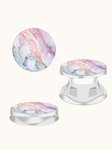 Marble Pattern Phone Expanding Stand Ring Grip
