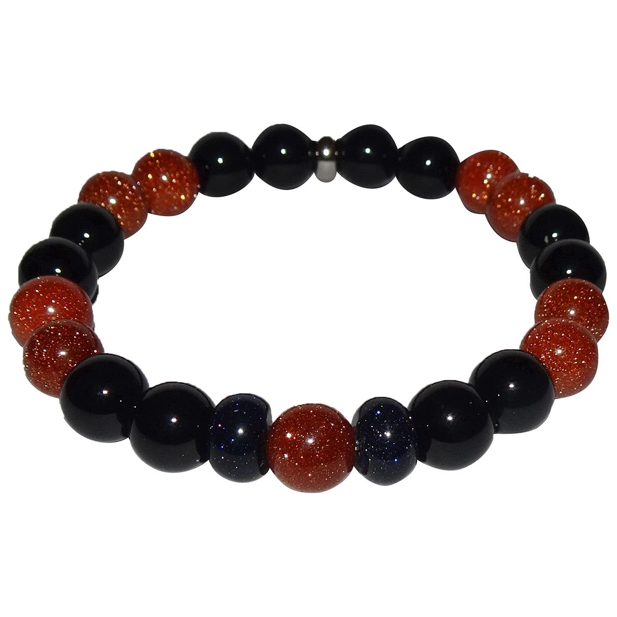 Non Signe / Unsigned \N Armband in  Orange Perlen