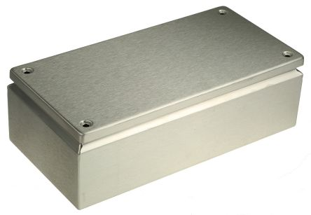 Rittal KL, 304 Stainless Steel Wall Box, IP66, 120mm x 300 mm x 400 mm, Unpainted