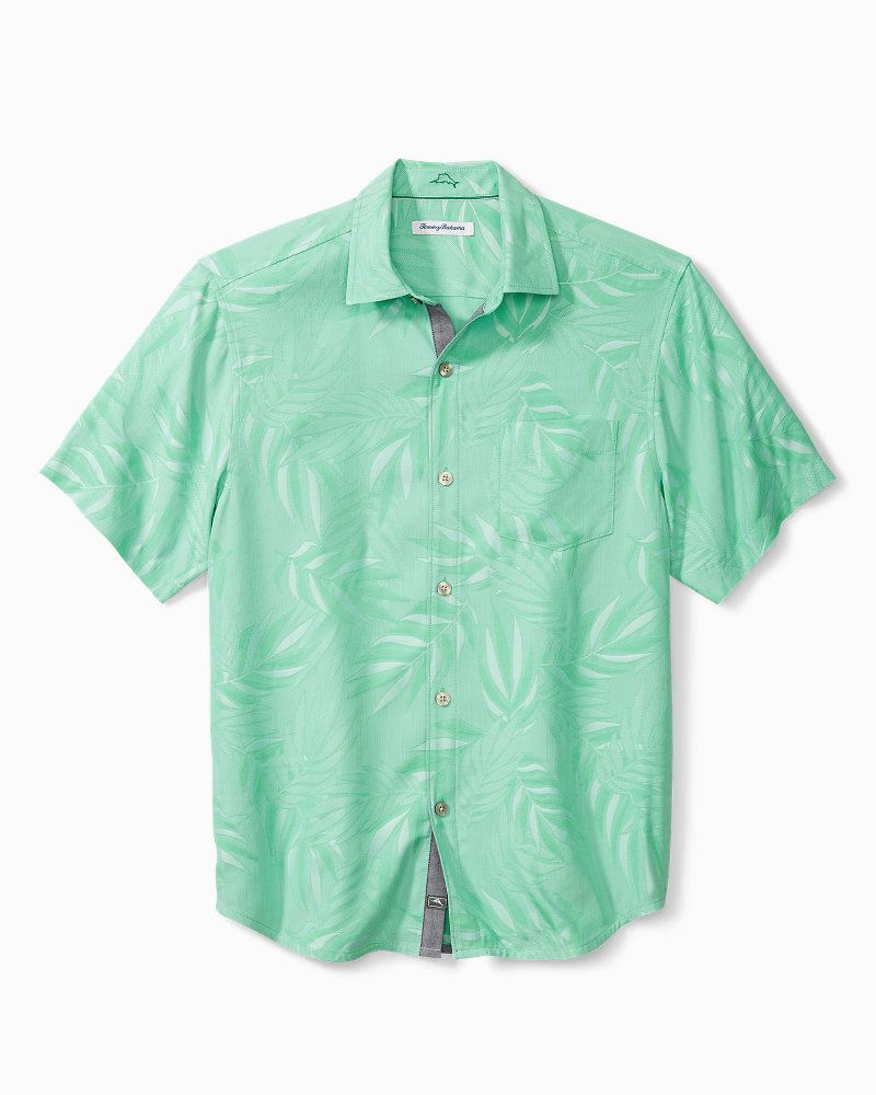 Coconut Point Jacquard Camp Shirt