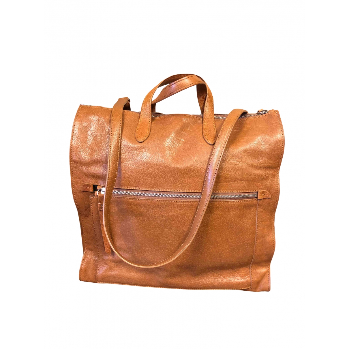 Maison Martin Margiela \N Brown Leather handbag for Women \N