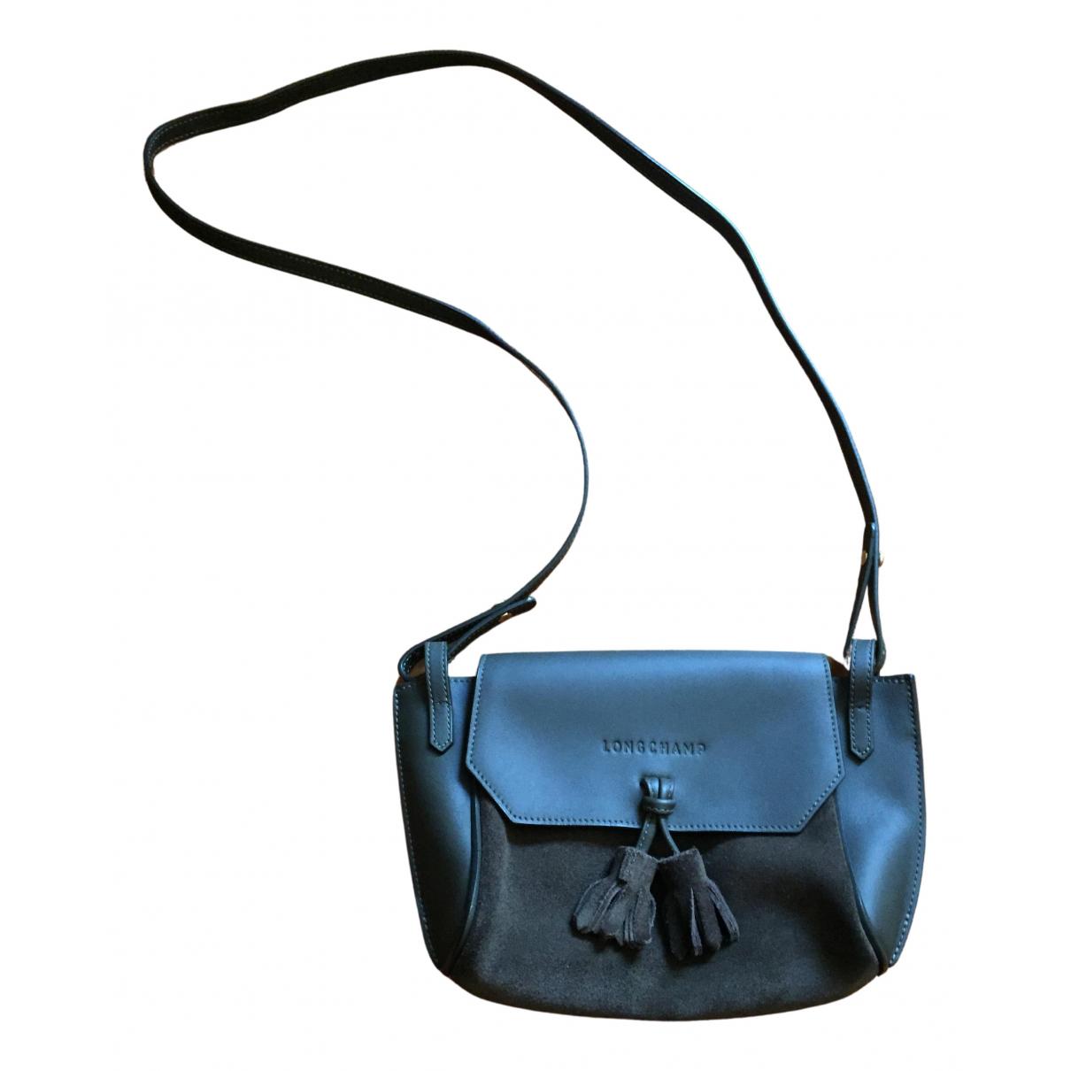 Longchamp - Sac a main Penelope  pour femme en cuir - kaki
