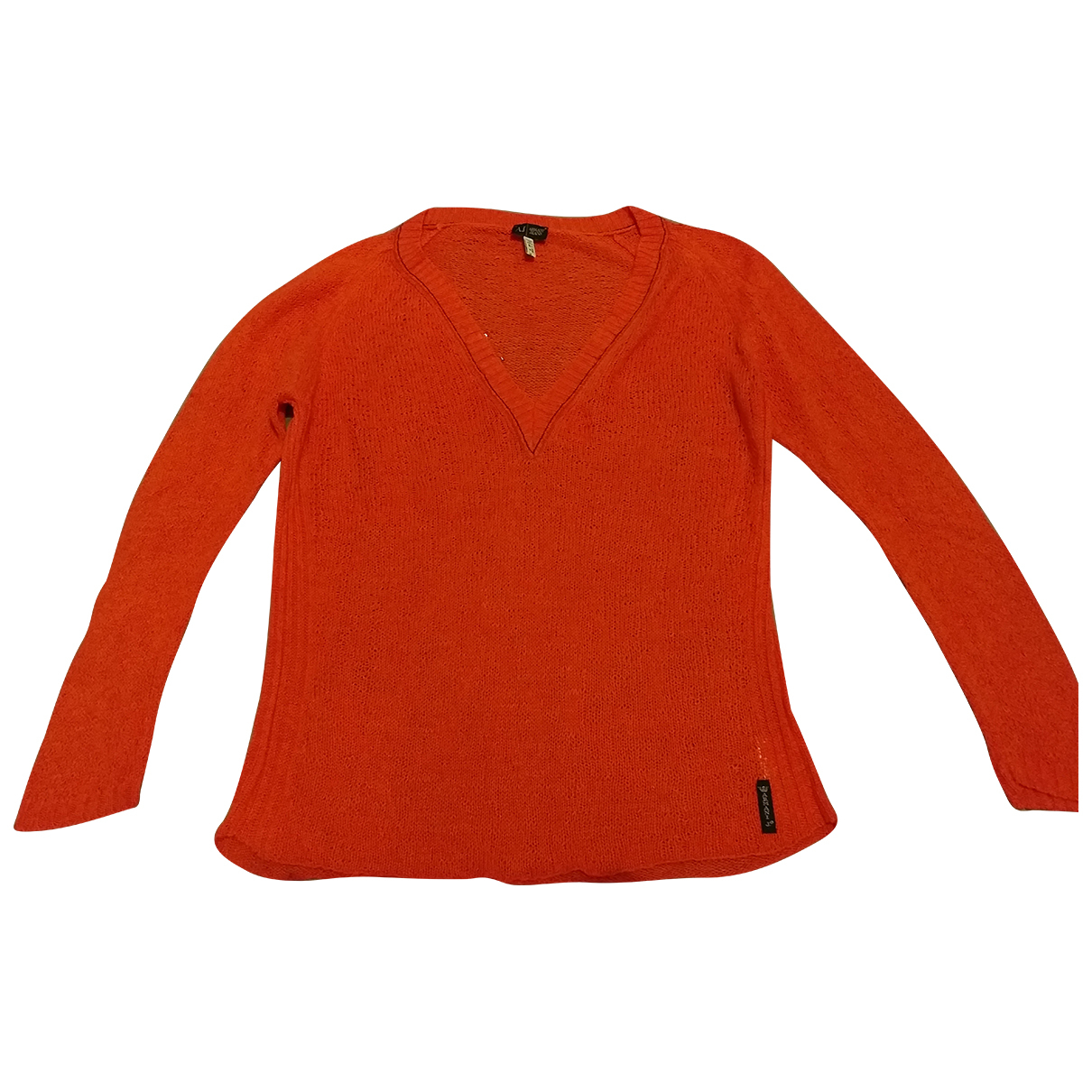 Armani Jean - Top   pour femme en coton - orange
