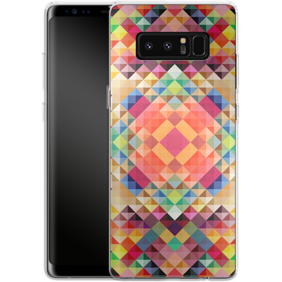 Samsung Galaxy Note 8 Silikon Handyhuelle - We Color von Danny Ivan