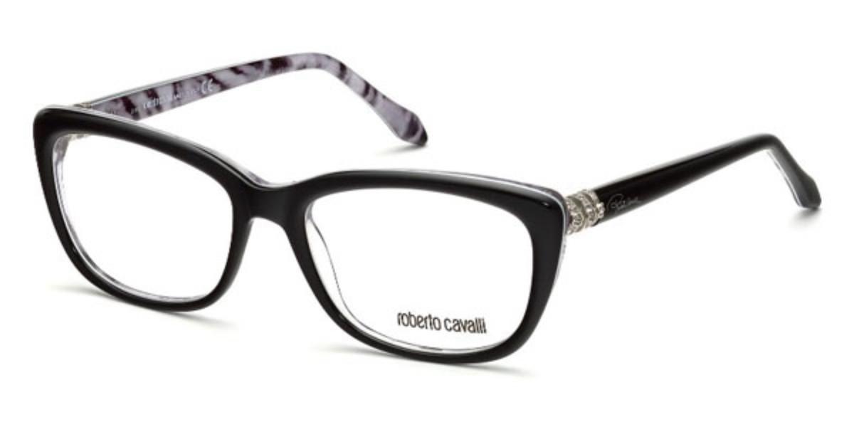 Roberto Cavalli RC 715 MARTINICA 005 Women's Glasses White Size 54 - Free Lenses - HSA/FSA Insurance - Blue Light Block Available