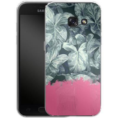 Samsung Galaxy A3 (2017) Silikon Handyhuelle - Sweet Pink on Jungle von Emanuela Carratoni