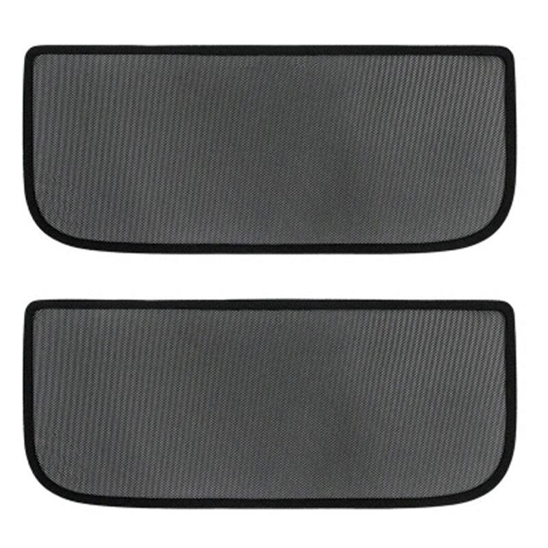 2pcs Skylight Screen Shade Mesh Car Sunroof Sunshade Cover for Tesla Model 3