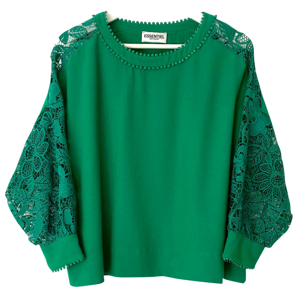 Essentiel Antwerp \N Green  top for Women 36 FR