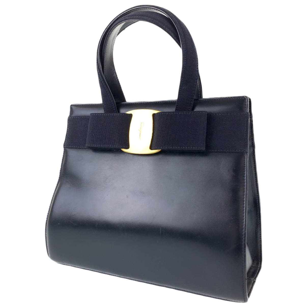 Salvatore Ferragamo \N Handtasche in Leder
