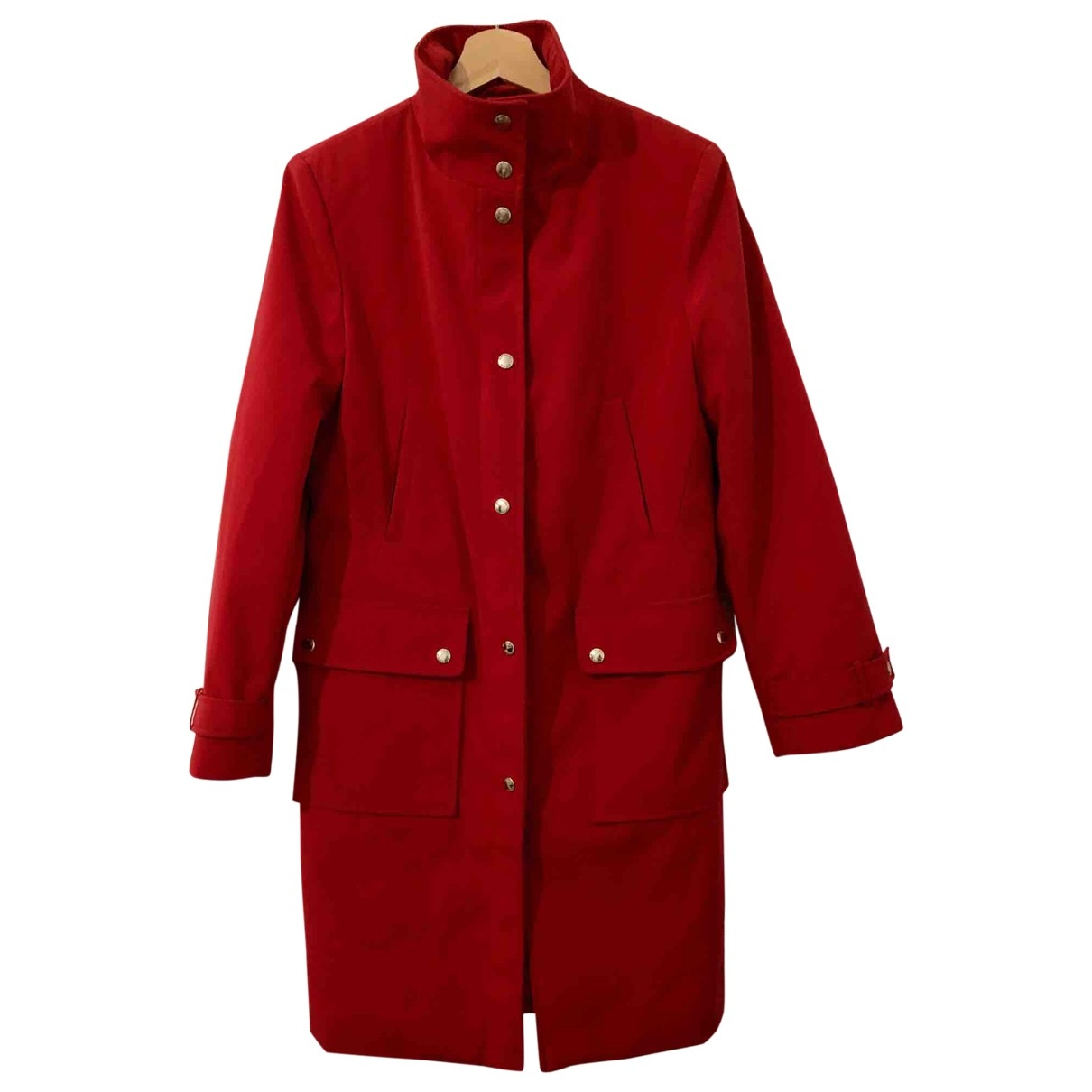Michael Kors \N Trench in  Rot Polyester