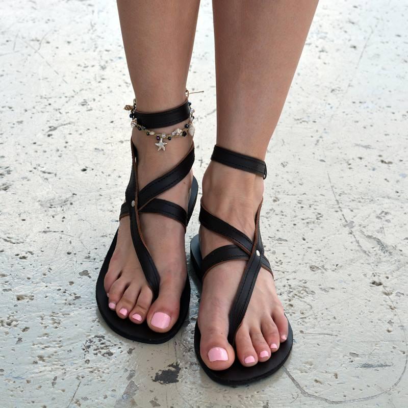Ericdress Buckle Thong Women's Flat Sandals