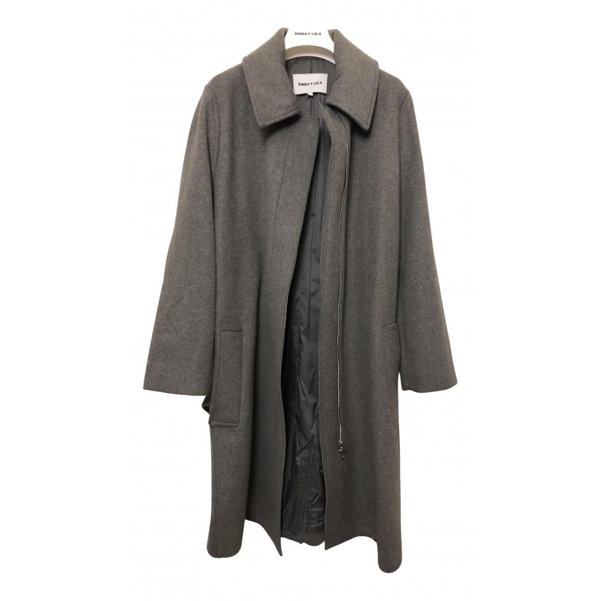 Bimba Y Lola N Grey Wool coat for Women L International