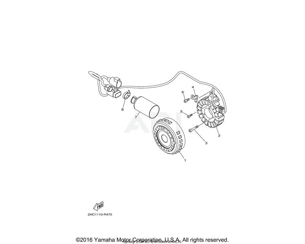 Yamaha OEM 8GL-8252U-00-00 COVER