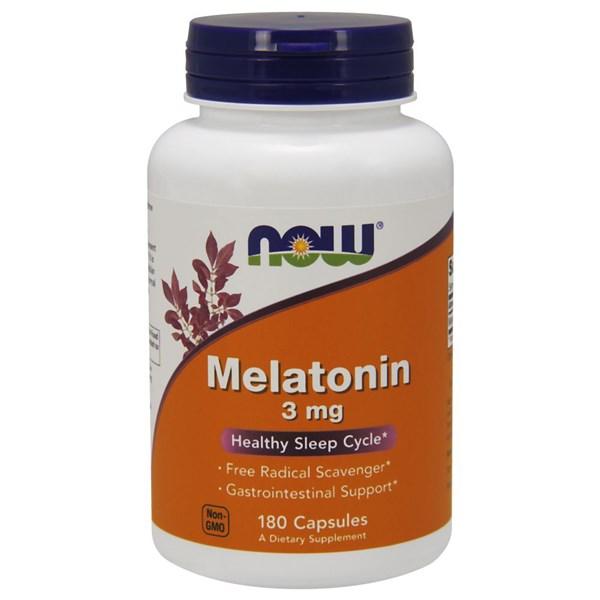 Melatonin 180 Caps by Now Foods