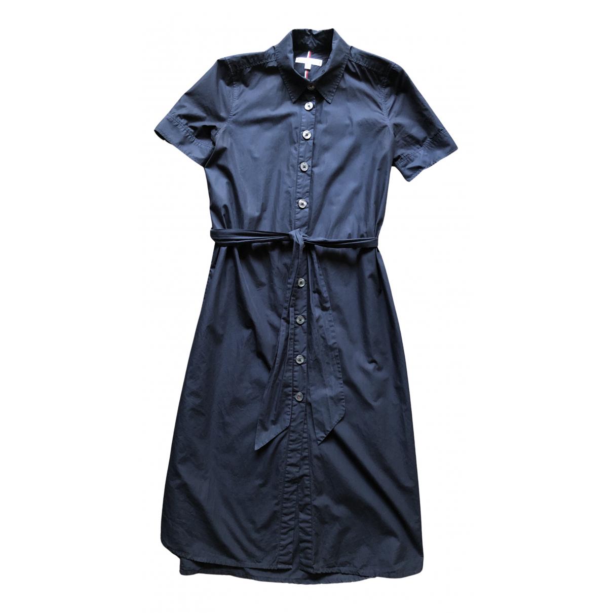 Tommy Hilfiger N Blue Cotton dress for Women 34 FR