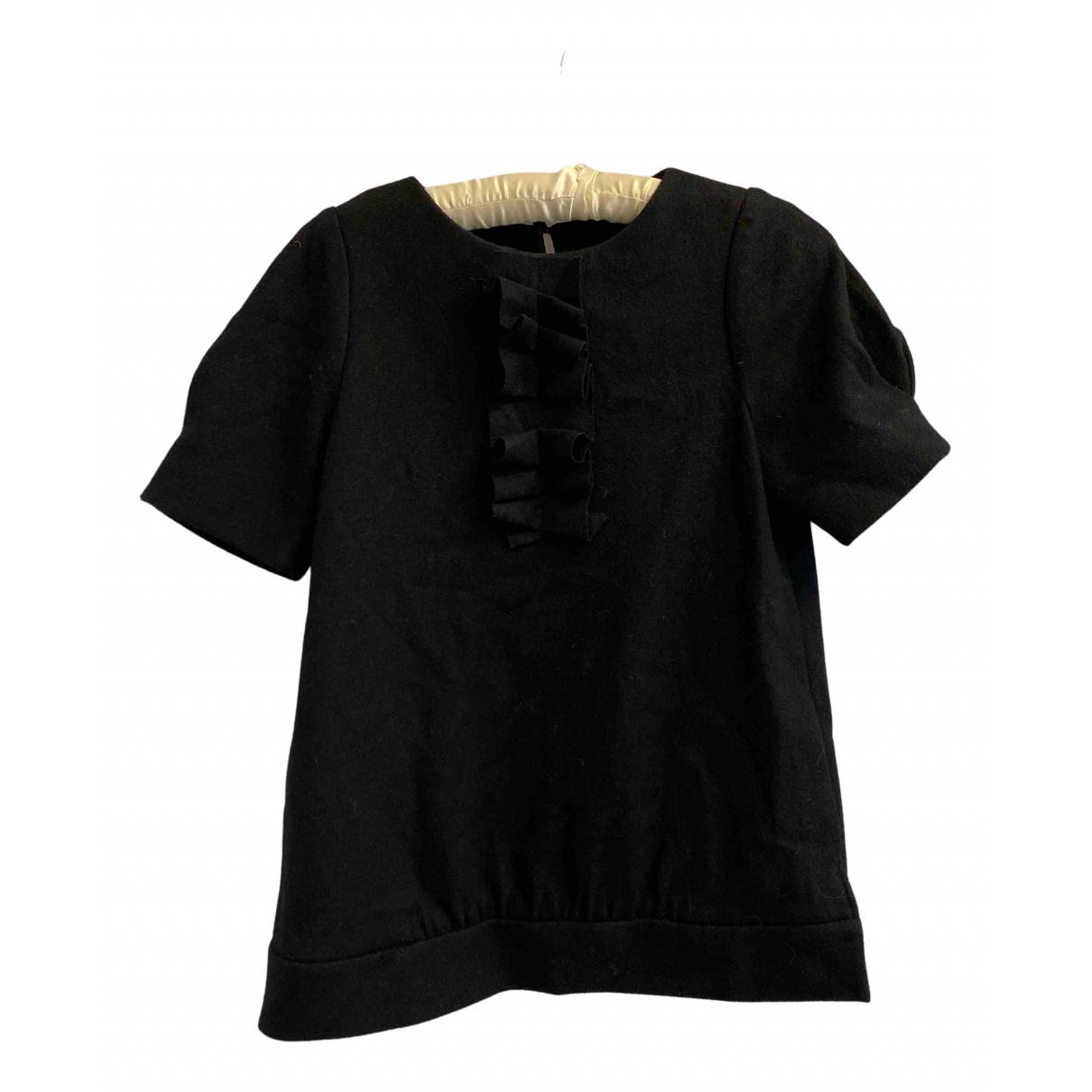 Bimba Y Lola - Top   pour femme en laine - noir