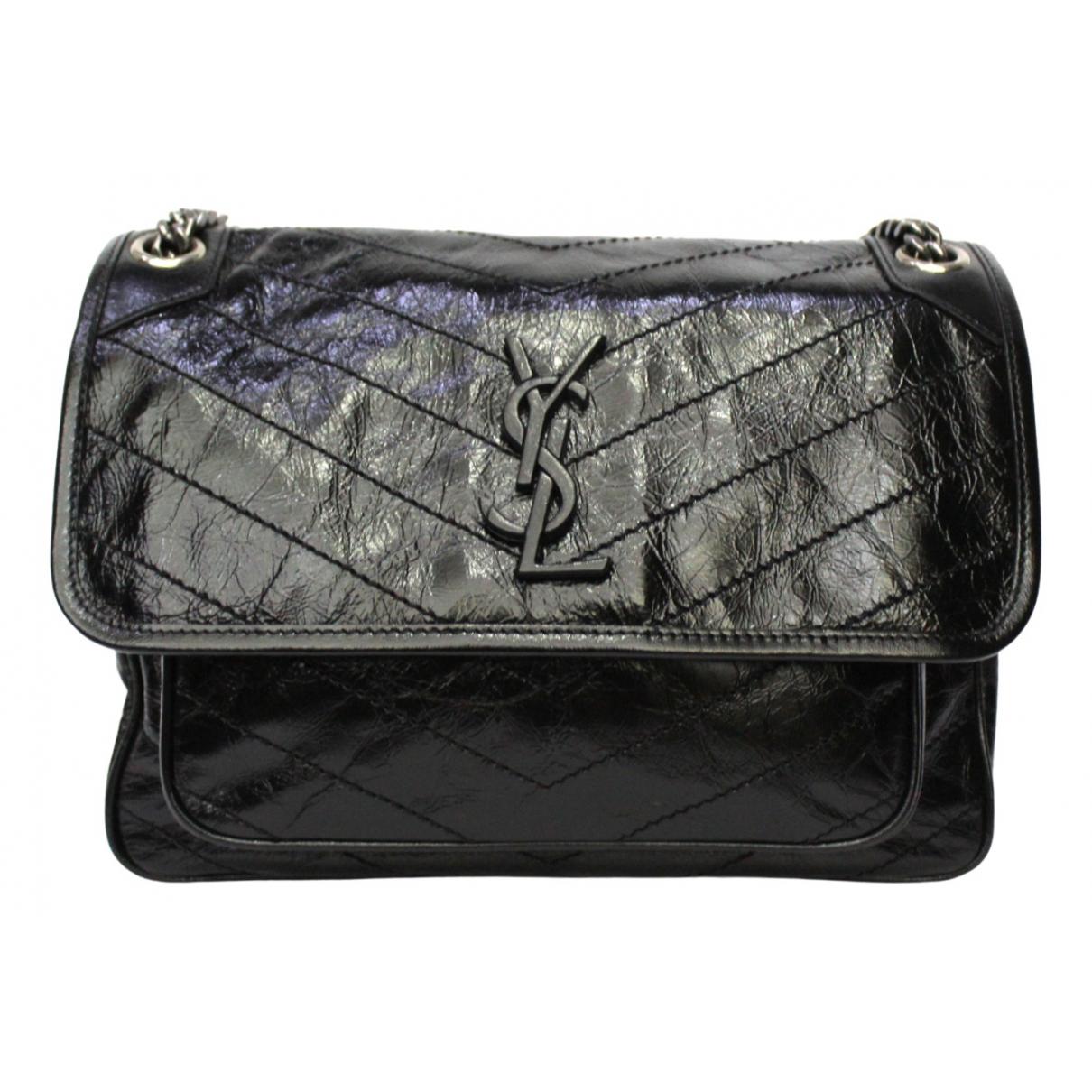 Saint Laurent Niki Black Leather handbag for Women \N
