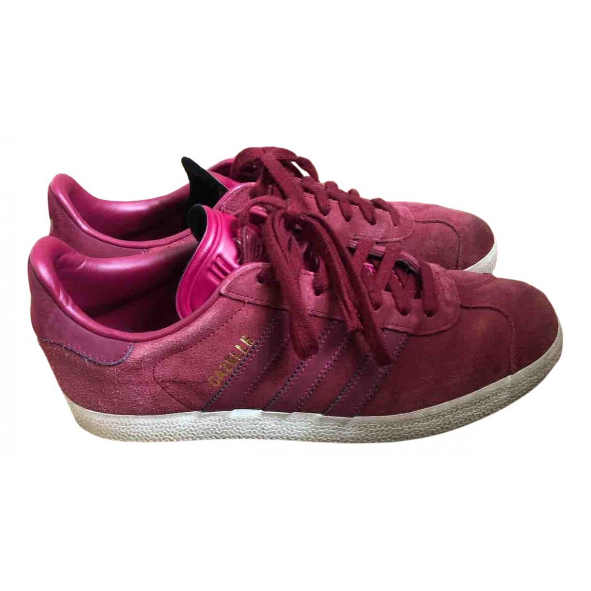 Adidas - Baskets Gazelle pour femme en suede - violet
