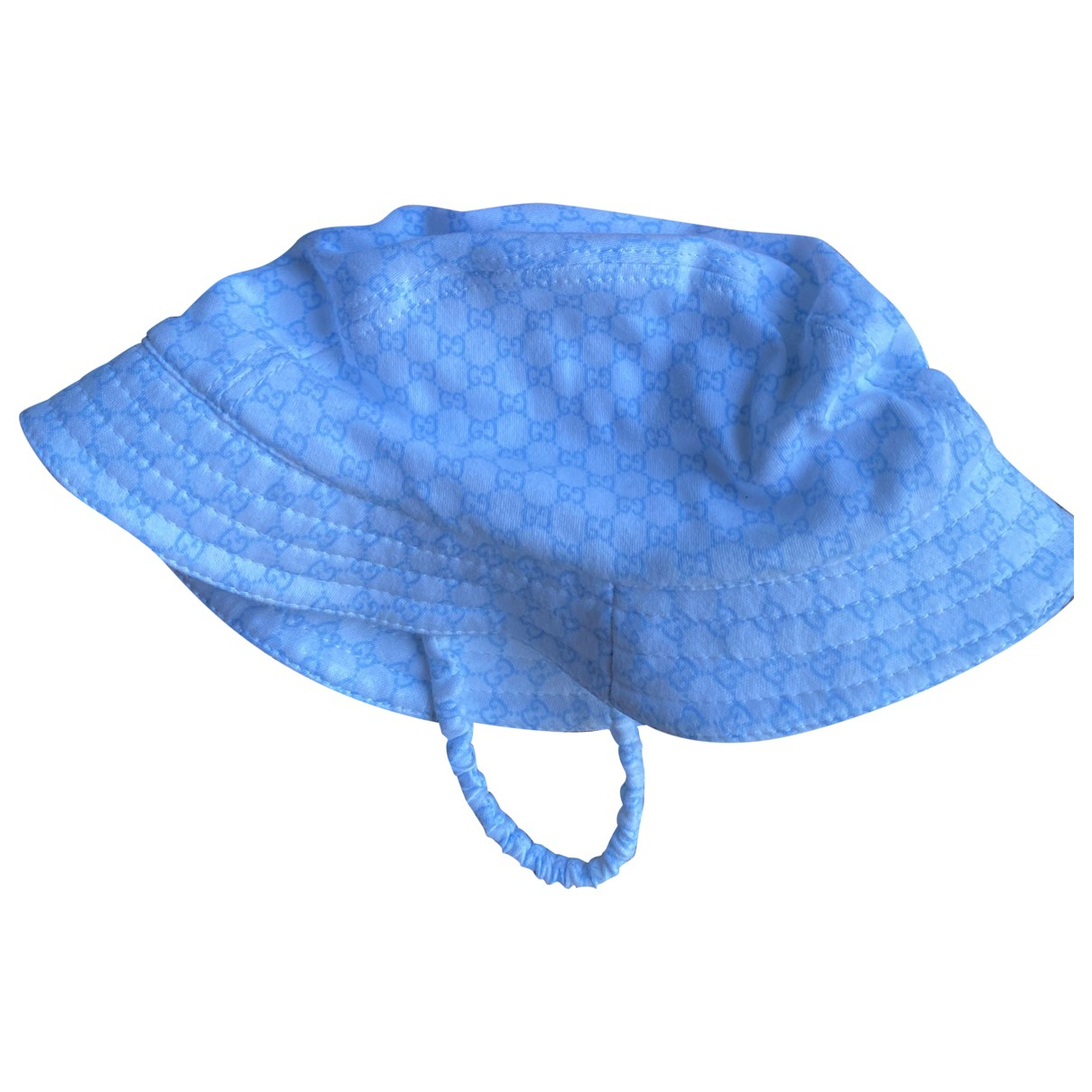 Gucci \N Hut, Muetzen, Handschuhe in  Blau Baumwolle