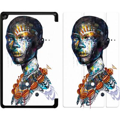 Amazon Fire HD 8 (2018) Tablet Smart Case - Zebra von Minjae Lee