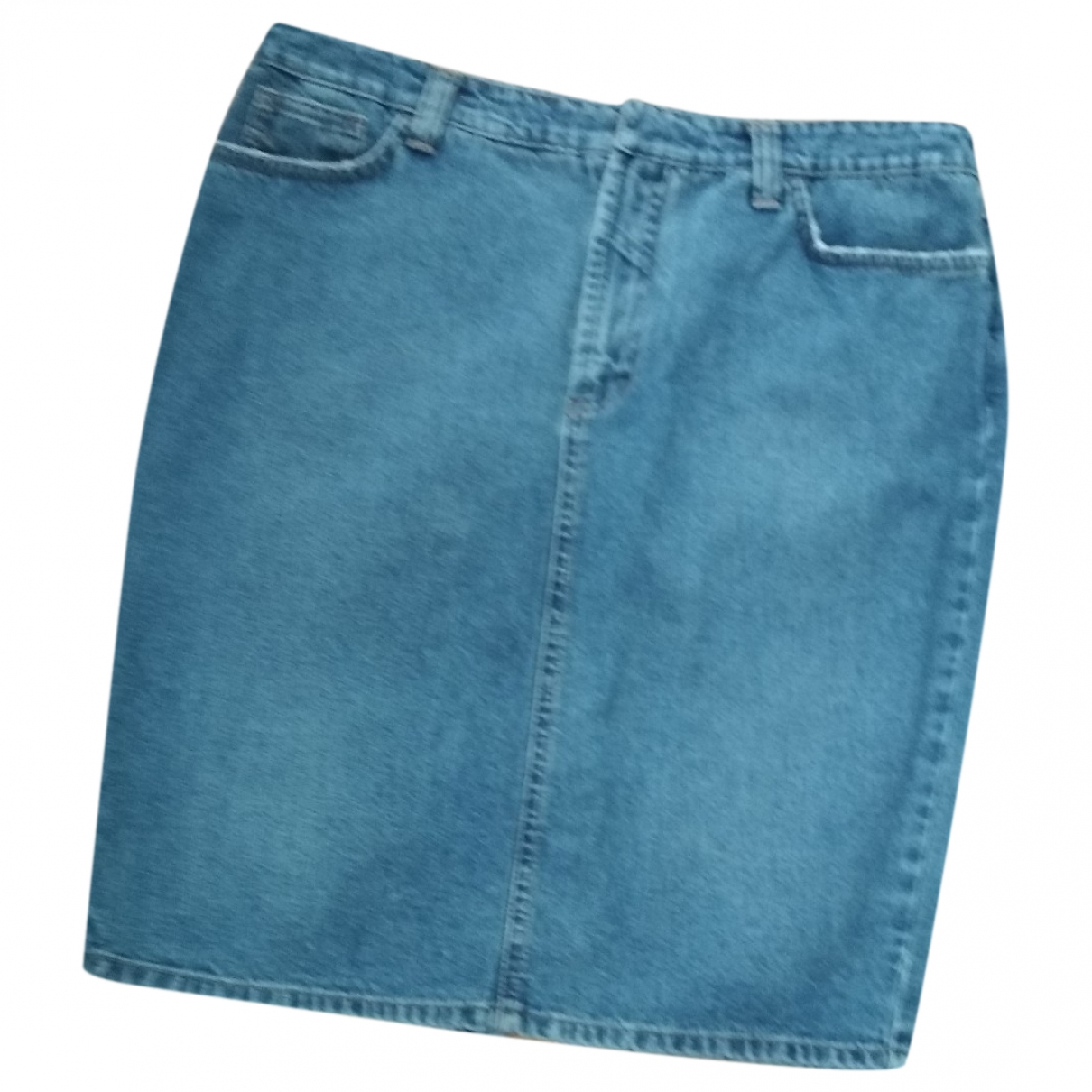 Dolce & Gabbana - Jupe   pour femme en coton - bleu