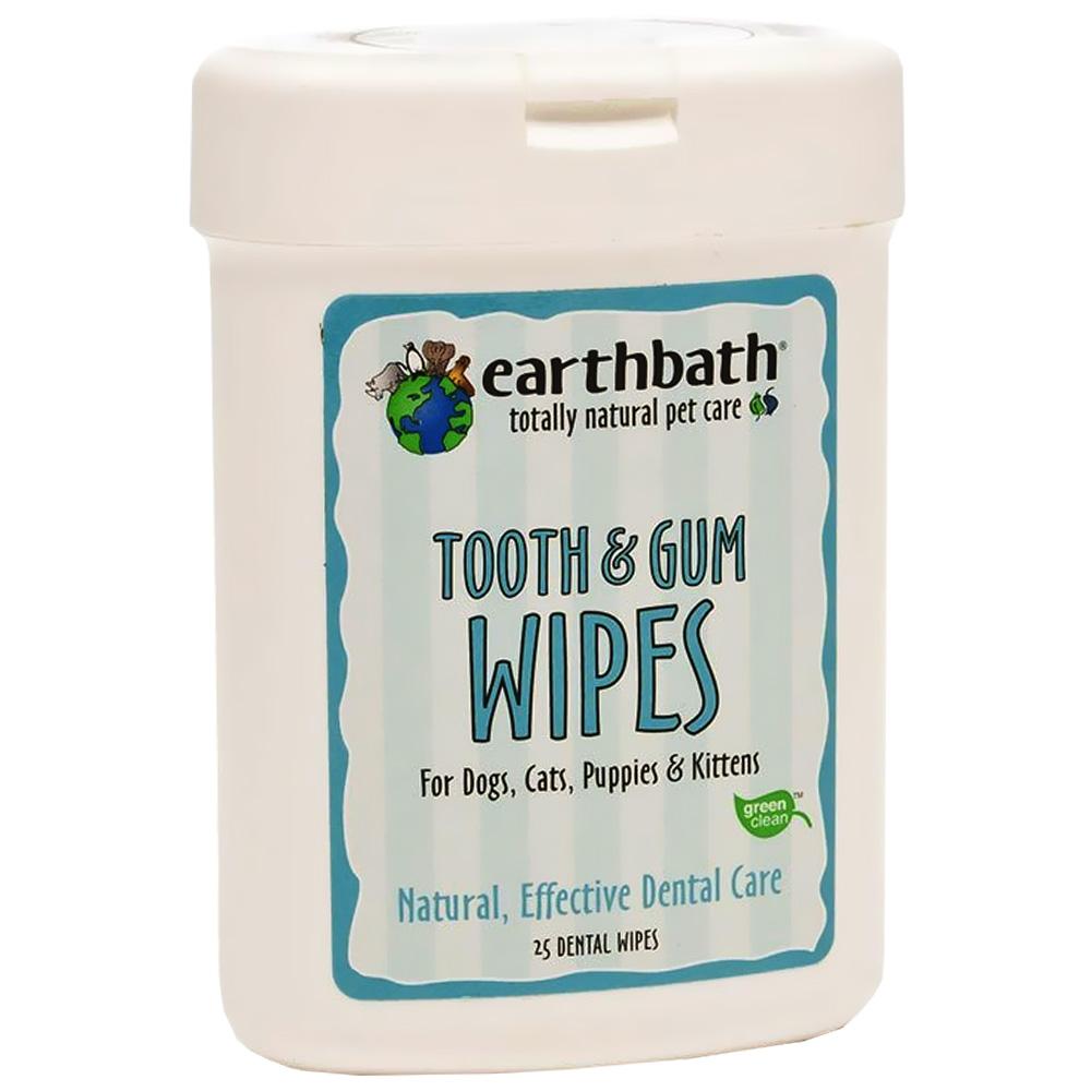 Earthbath Dental Wipes (25 count)