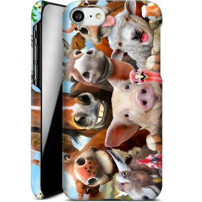 Apple iPhone 7 Smartphone Huelle - Farm Selfie von Howard Robinson