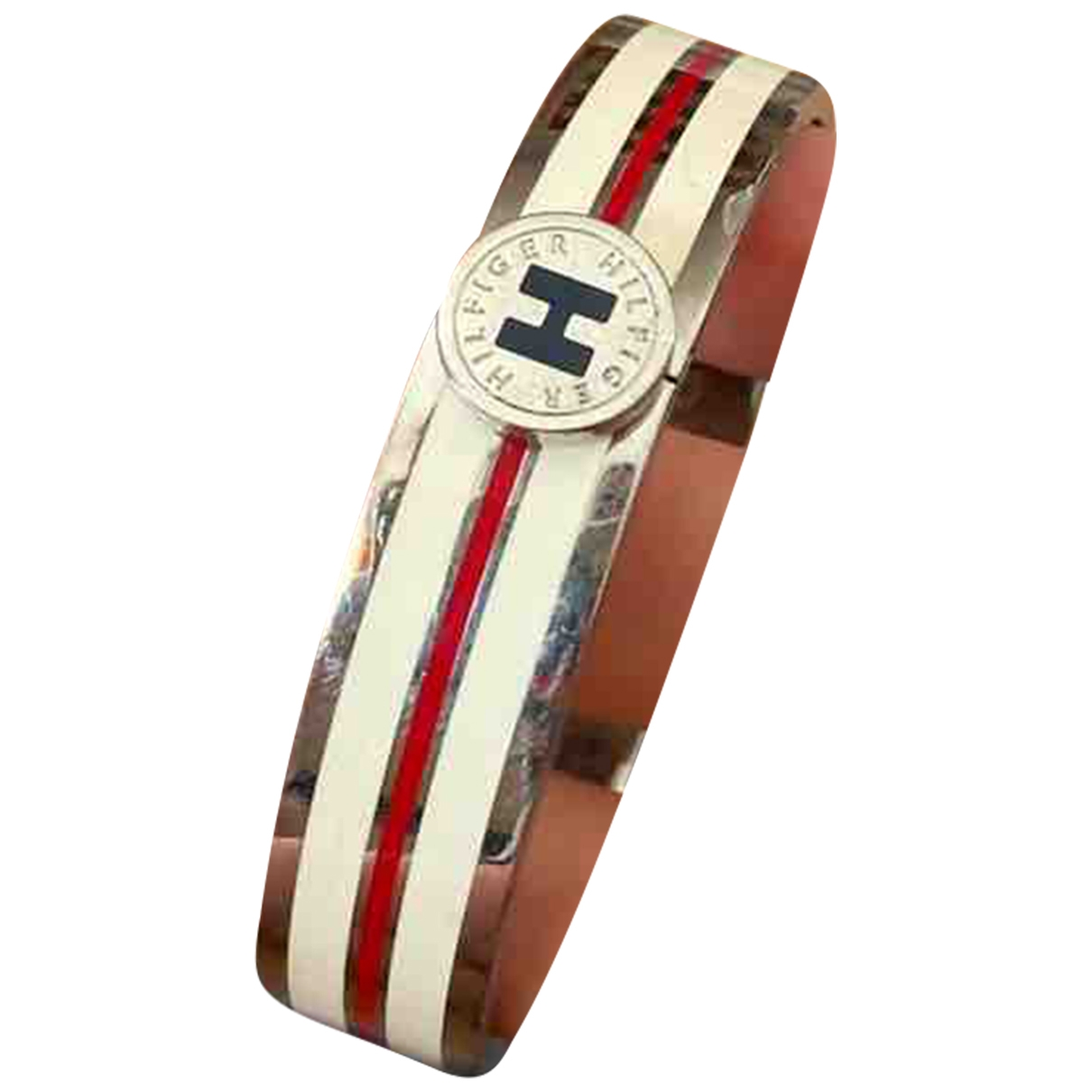 Tommy Hilfiger - Bracelet   pour femme en acier - blanc