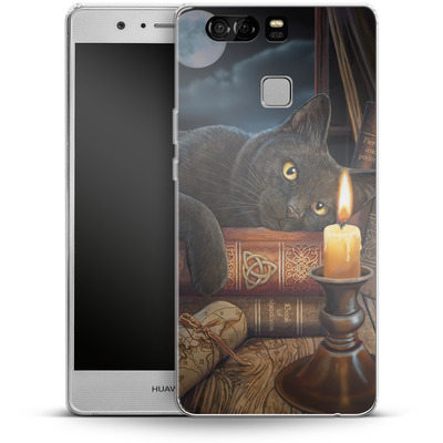 Huawei P9 Silikon Handyhuelle - Witching Hour von Lisa Parker