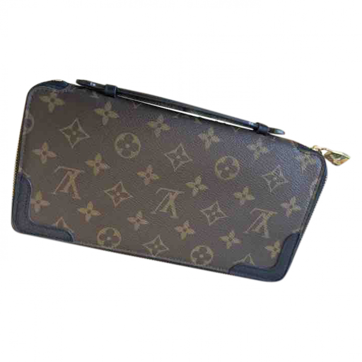Louis Vuitton Zippy XL Brown Cloth Small bag, wallet & cases for Men N