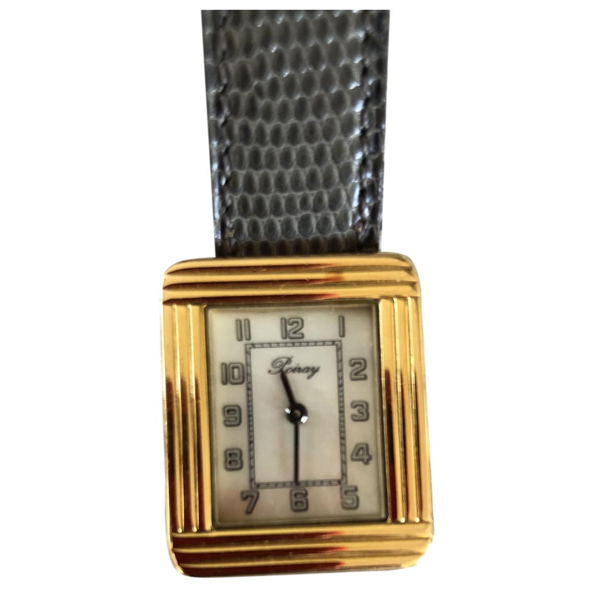 Poiray Ma Premiere Grand Modele Uhr in  Gold Gold und Stahl