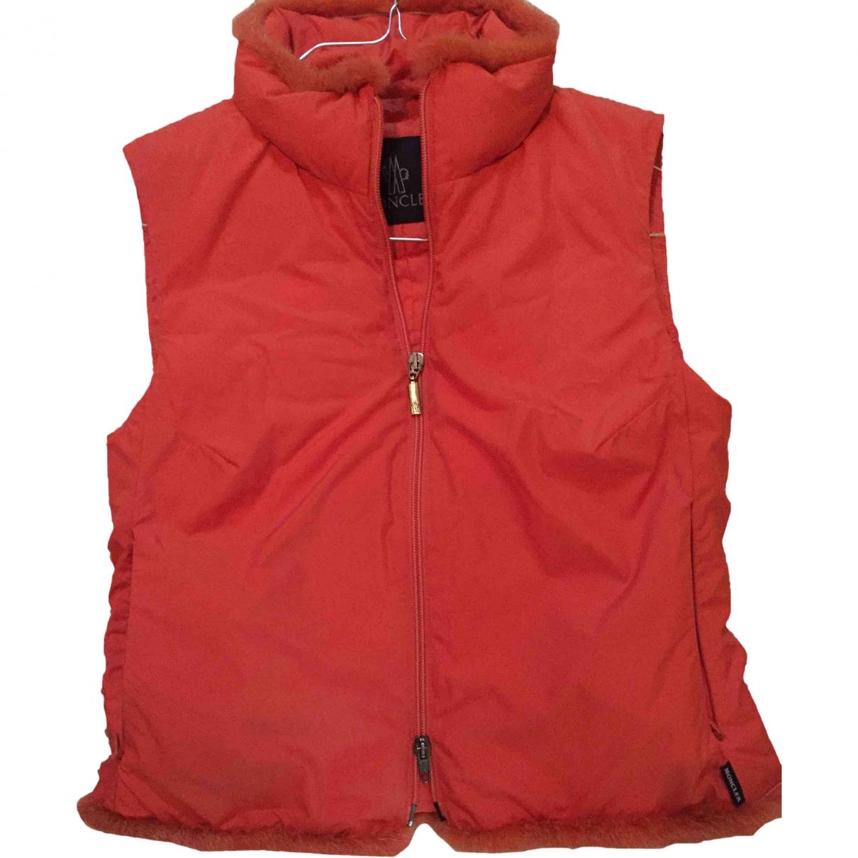 Moncler Sleeveless Orange jacket for Women 1 US