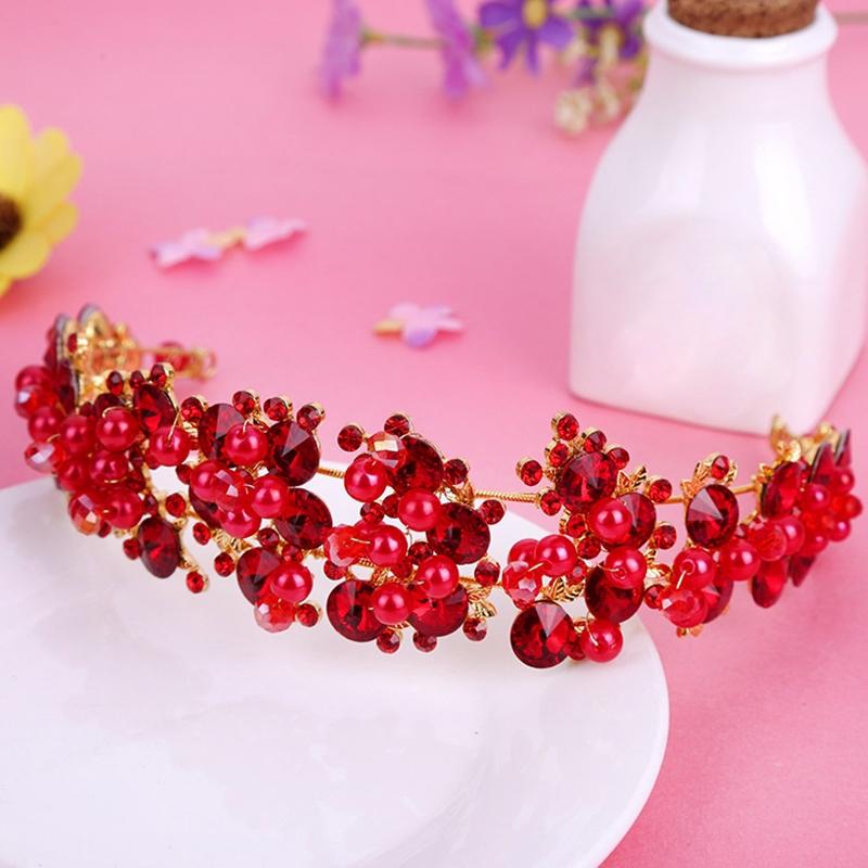 Ericdress Korean Pearl Inlaid Crown Hair Accessories (Wedding)