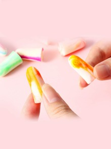 Random Color Earplug 2pcs