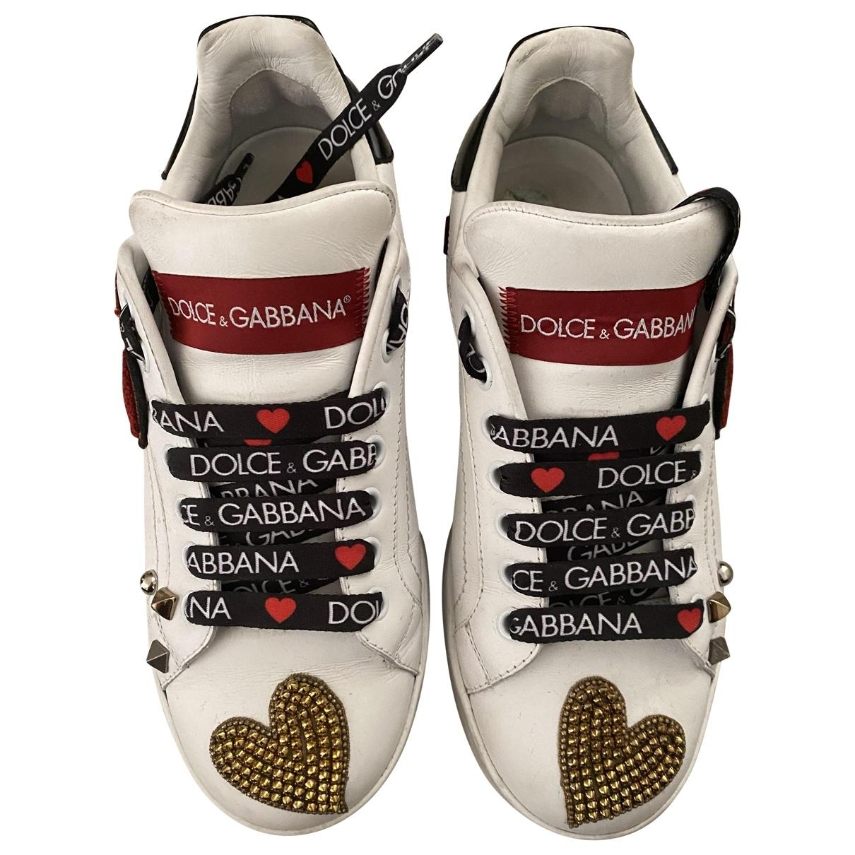 Deportivas de Cuero Dolce & Gabbana
