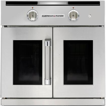 AROFG-30-N 30 Legacy Series Stainless Steel Natural Gas Single French Door Wall Oven with 4.7 cu. ft. Capacity  Innovection Convection Bake  and 2