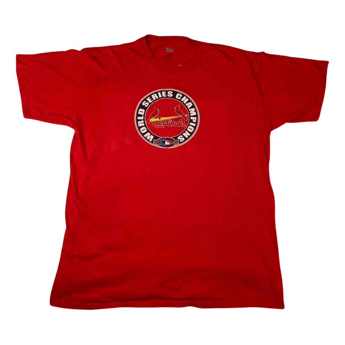 American Vintage - Tee shirts   pour homme en coton - rouge