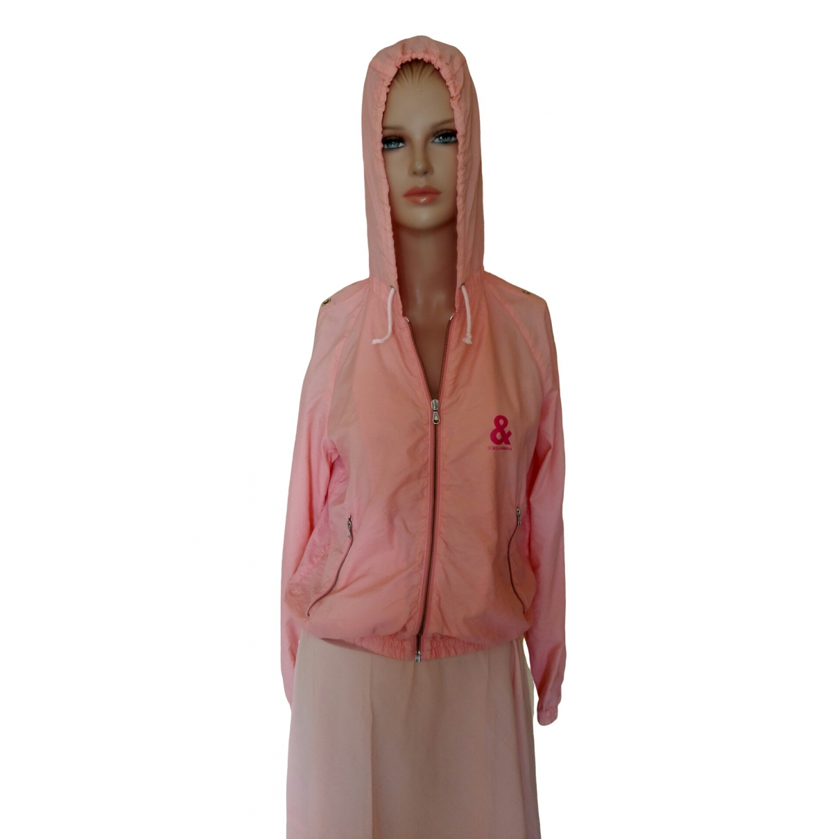 D&g - Trench   pour femme - rose