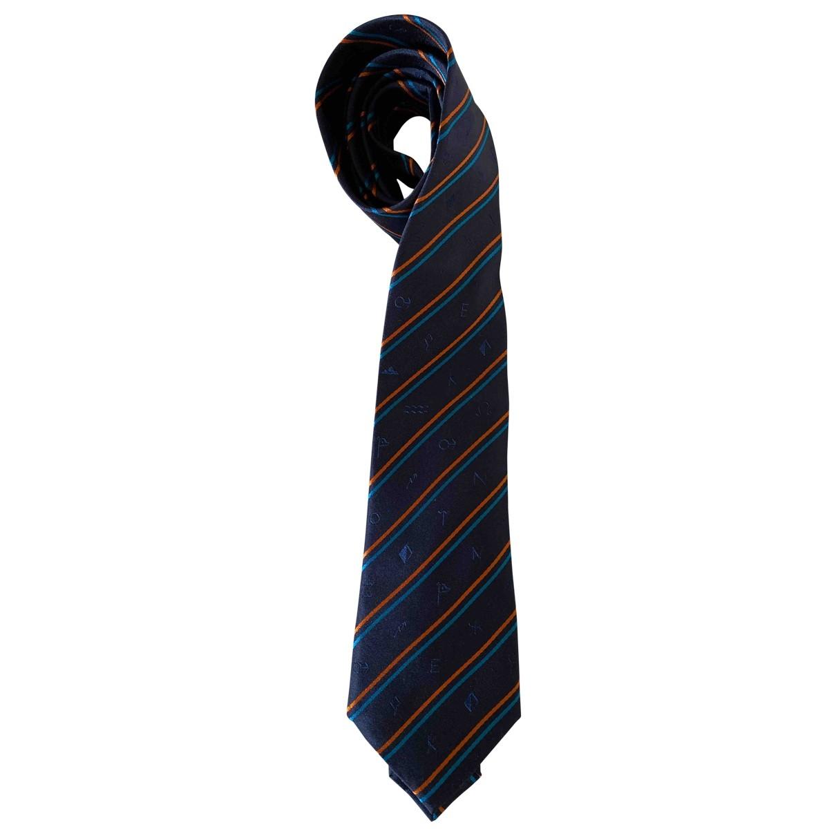 Kenzo \N Krawatten in  Marine Seide