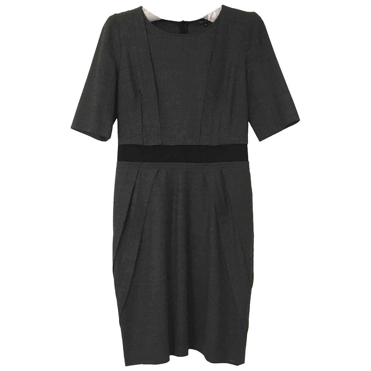 Tara Jarmon \N Kleid in  Grau Wolle