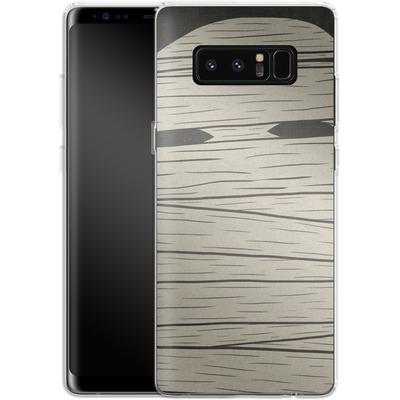 Samsung Galaxy Note 8 Silikon Handyhuelle - MUMMY von caseable Designs