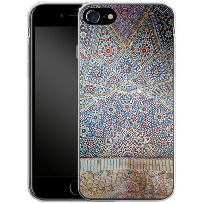 Apple iPhone 8 Silikon Handyhuelle - Iranian Mosaic von Omid Scheybani