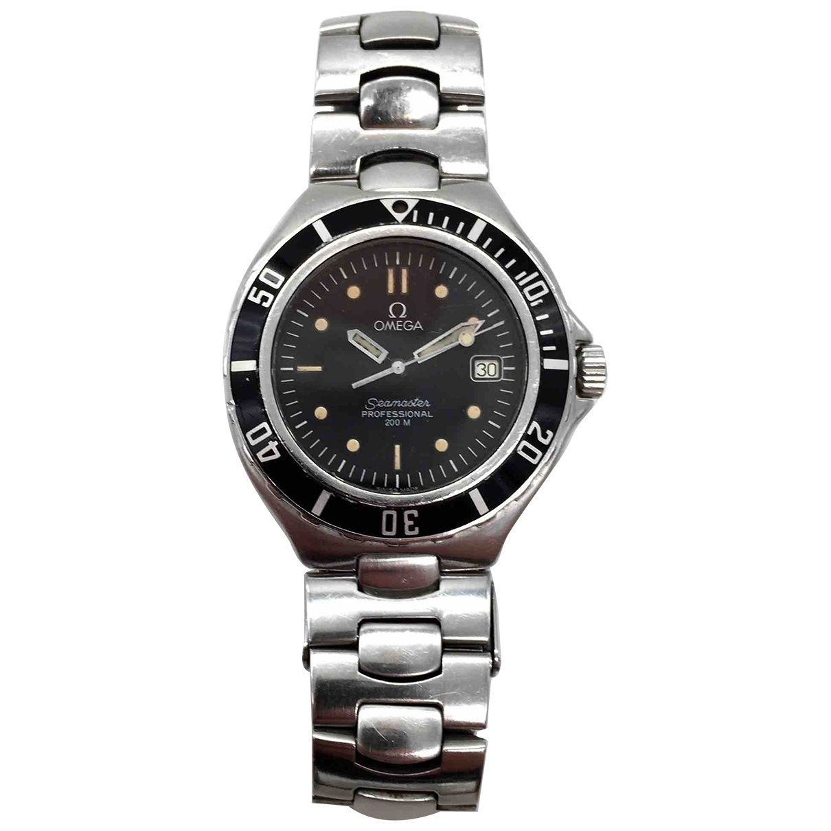 Omega Seamaster Black Steel watch for Women \N