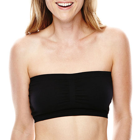 Ambrielle Smoothing Solutions Wireless Bandeau - 114345, Large , Black